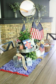 Inexpensive 4th Of July Decoration Ideas In The Dining Room 12