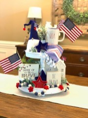 Inexpensive 4th Of July Decoration Ideas In The Dining Room 20