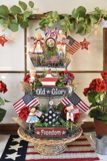 Inexpensive 4th Of July Decoration Ideas In The Dining Room 22