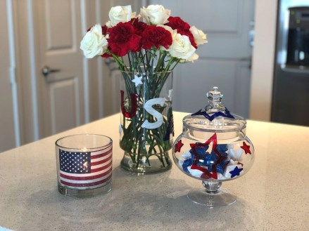 Inexpensive 4th Of July Decoration Ideas In The Dining Room 24