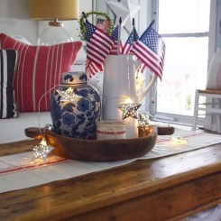 Inexpensive 4th Of July Decoration Ideas In The Dining Room 25