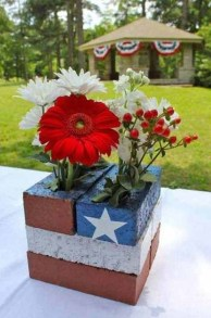 Inexpensive 4th Of July Decoration Ideas In The Dining Room 34