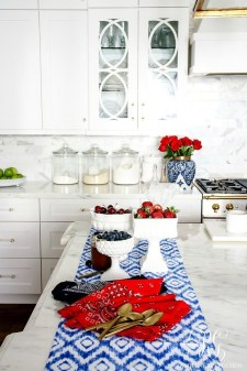 Inexpensive 4th Of July Decoration Ideas In The Dining Room 39