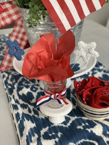 Inexpensive 4th Of July Decoration Ideas In The Dining Room 49