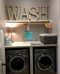 Minimalist And Small Laundry Room Ideas For Small Space 10