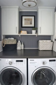 Minimalist And Small Laundry Room Ideas For Small Space 18