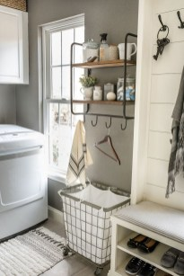 Minimalist And Small Laundry Room Ideas For Small Space 23