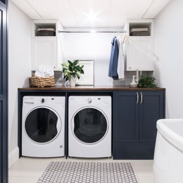 Minimalist And Small Laundry Room Ideas For Small Space 33