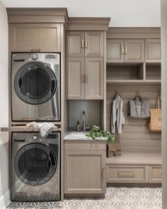 Minimalist And Small Laundry Room Ideas For Small Space 41