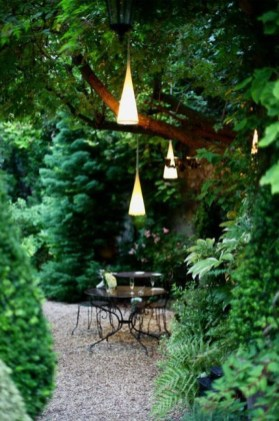 Outstanding Lighting Ideas To Light Up Your Garden With Style 09