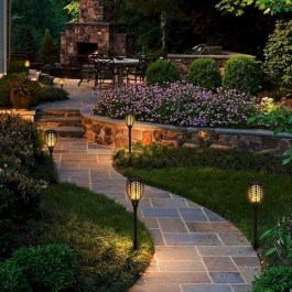 Outstanding Lighting Ideas To Light Up Your Garden With Style 50