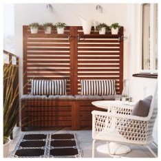 Stunning Balcony Decoration Ideas With Seating Areas 01