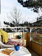 Stunning Balcony Decoration Ideas With Seating Areas 02