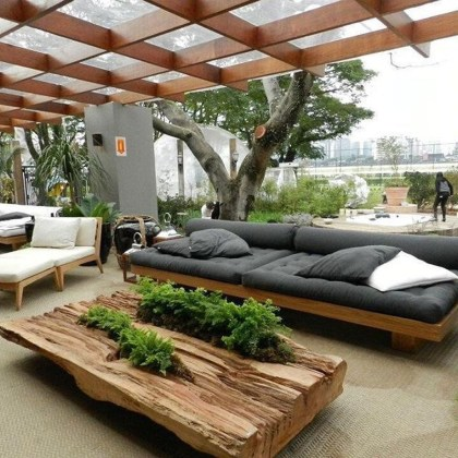 Stunning Balcony Decoration Ideas With Seating Areas 44