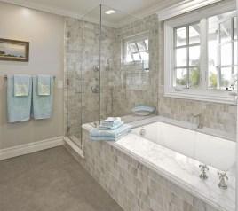 Stylish Coastal Bathroom Remodel Design Ideas 11