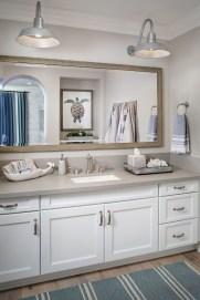 Stylish Coastal Bathroom Remodel Design Ideas 23