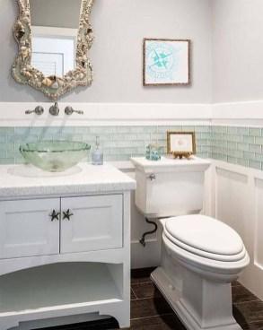 Stylish Coastal Bathroom Remodel Design Ideas 26