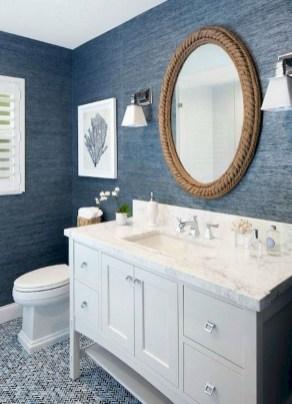 Stylish Coastal Bathroom Remodel Design Ideas 42