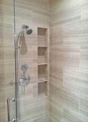 Stylish Coastal Bathroom Remodel Design Ideas 44