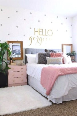 Trendy Decoration Ideas For Teenage Bedroom Design 30