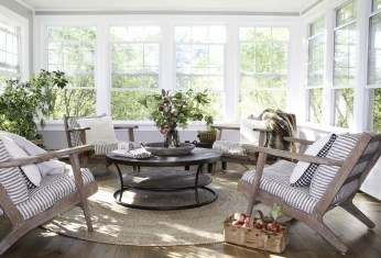 Unordinary Sunroom Design Ideas For Interior Home 36