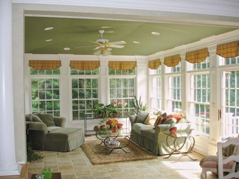 Unordinary Sunroom Design Ideas For Interior Home 44