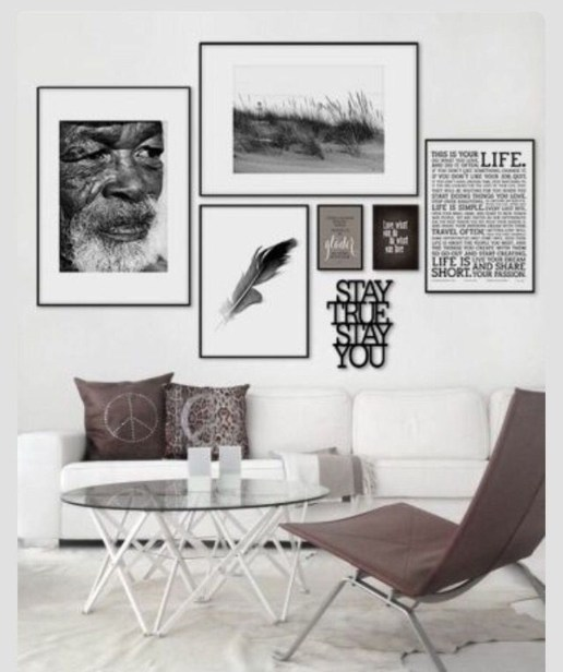 Amazing Wall Art Design Ideas For Living Room 15