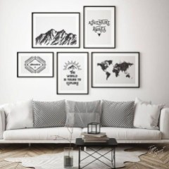 Amazing Wall Art Design Ideas For Living Room 32