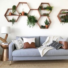 Amazing Wall Art Design Ideas For Living Room 45