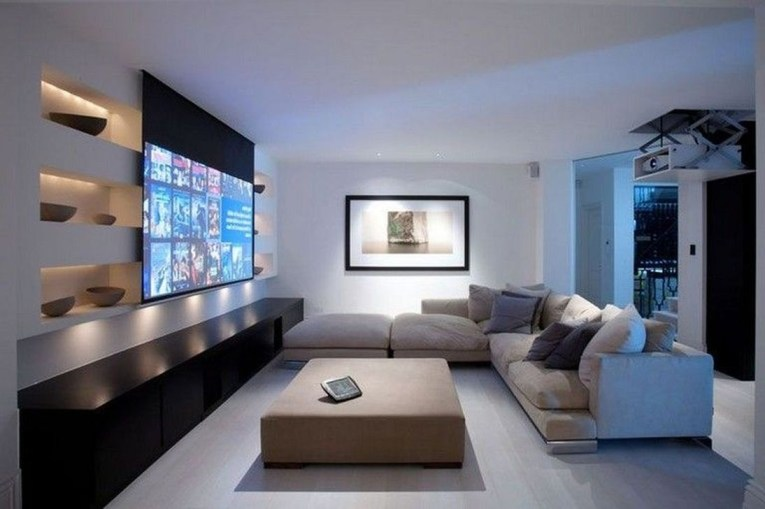 Best Small Movie Room Design For Your Happiness Family 14