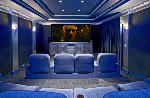 Best Small Movie Room Design For Your Happiness Family 35