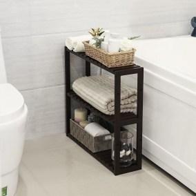 Brilliant Bathroom Storage Ideas For Your Bathroom Design 23