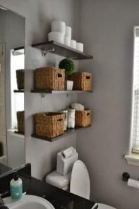Brilliant Bathroom Storage Ideas For Your Bathroom Design 38