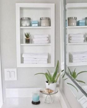 Brilliant Bathroom Storage Ideas For Your Bathroom Design 45