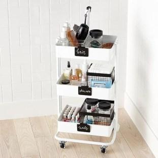 Brilliant Bathroom Storage Ideas For Your Bathroom Design 47