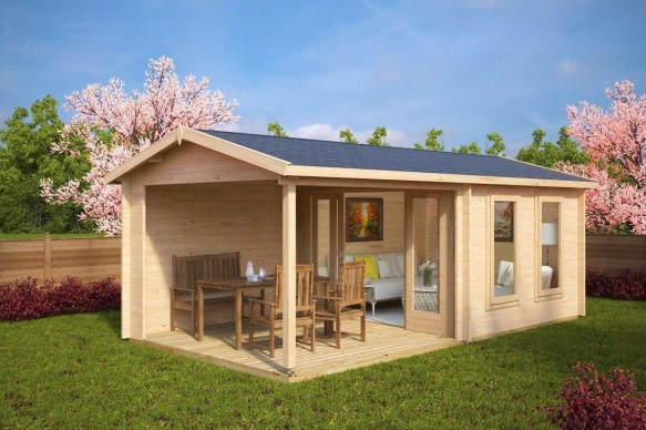 Classy Summer House Ideas For Home Interior 12