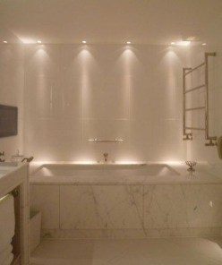 Elegant Bathroom Lighting Ideas To Brighten Your Style 05