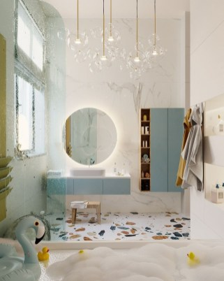 Elegant Bathroom Lighting Ideas To Brighten Your Style 06