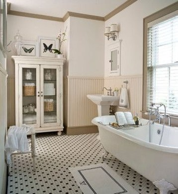 Impressive Vintage Bathroom Decoration You'll Love 05