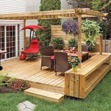 Inspiring Backyard Patio Design Ideas With Beautiful Landscaping 10