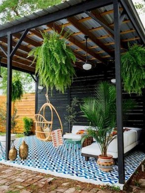 Inspiring Backyard Patio Design Ideas With Beautiful Landscaping 17