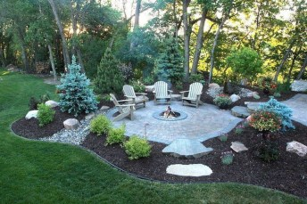 Inspiring Backyard Patio Design Ideas With Beautiful Landscaping 22