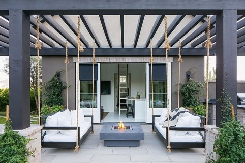 Inspiring Backyard Patio Design Ideas With Beautiful Landscaping 27