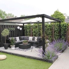 Inspiring Backyard Patio Design Ideas With Beautiful Landscaping 35