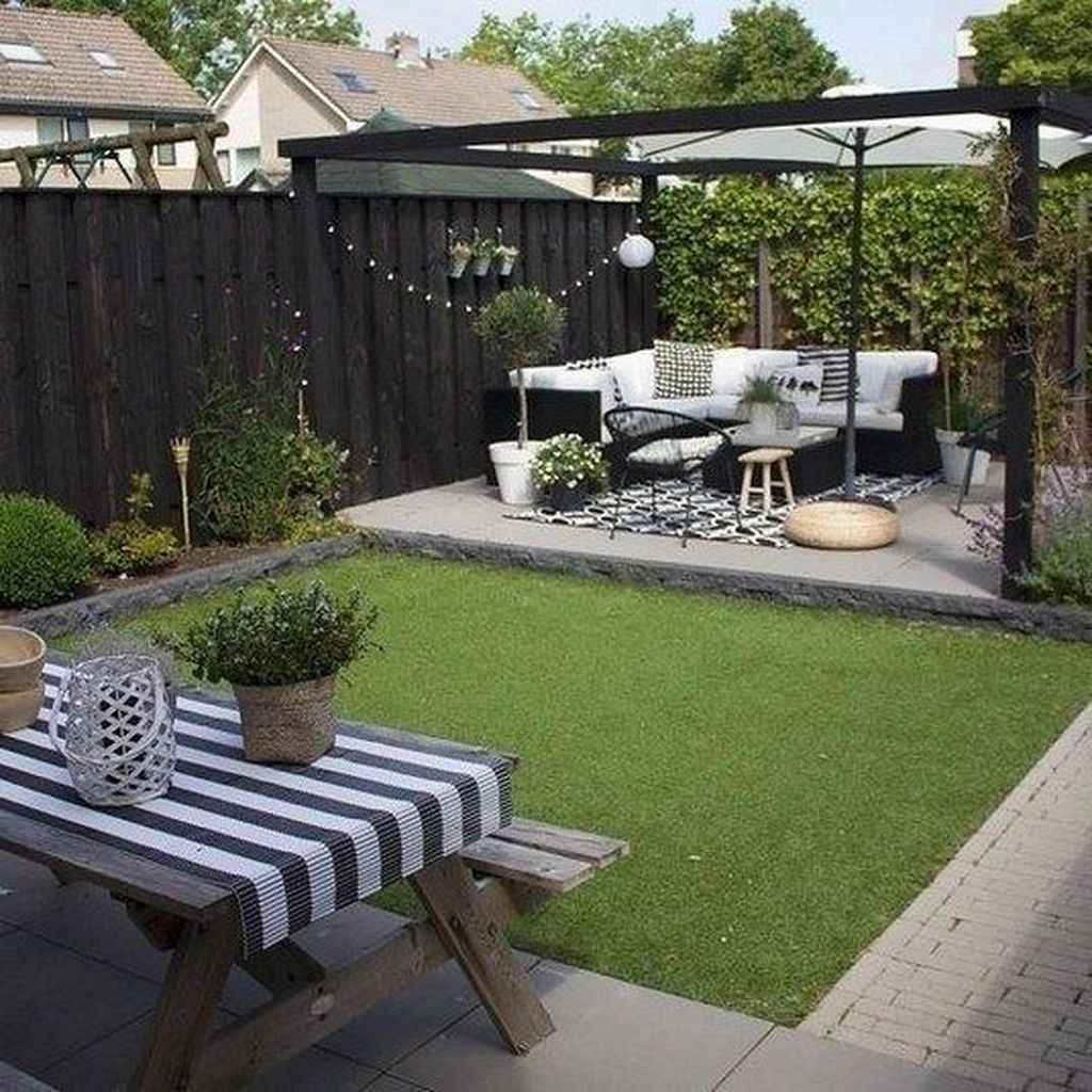 Inspiring Backyard Patio Design Ideas With Beautiful Landscaping 49