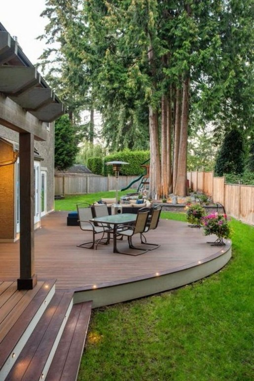 Inspiring Backyard Patio Design Ideas With Beautiful Landscaping 51