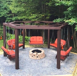 Marvelous Outdoor Fire Pit Ideas To Enjoying This Summer 10