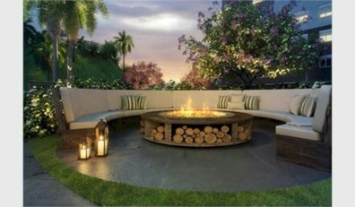 Marvelous Outdoor Fire Pit Ideas To Enjoying This Summer 41