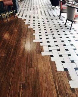 Stunning Wood Floor Ideas To Beautify Your Kitchen Room 05