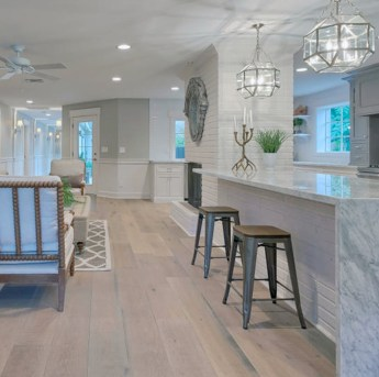 Stunning Wood Floor Ideas To Beautify Your Kitchen Room 29